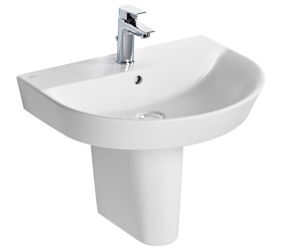 Additional image of Ideal Standard Concept Air Arc 500mm 1 Tap Hole Basin - 550 And 600mm Optional