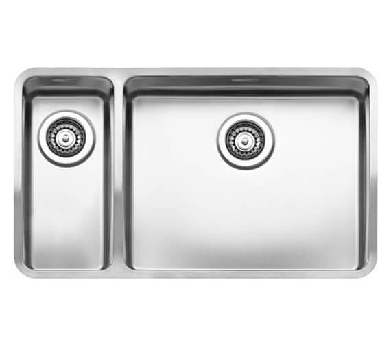 Reginox Ohio 753 x 440mm Stainless Steel 1.5 Bowl Integrated Kitchen Sink