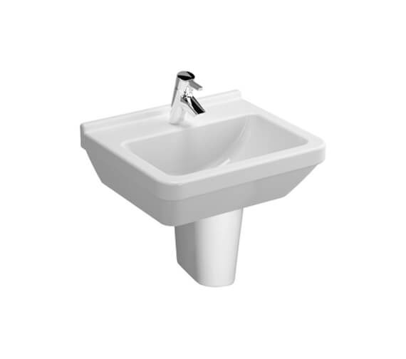 Additional image of VitrA S50 Square Washbasin 450mm Wide