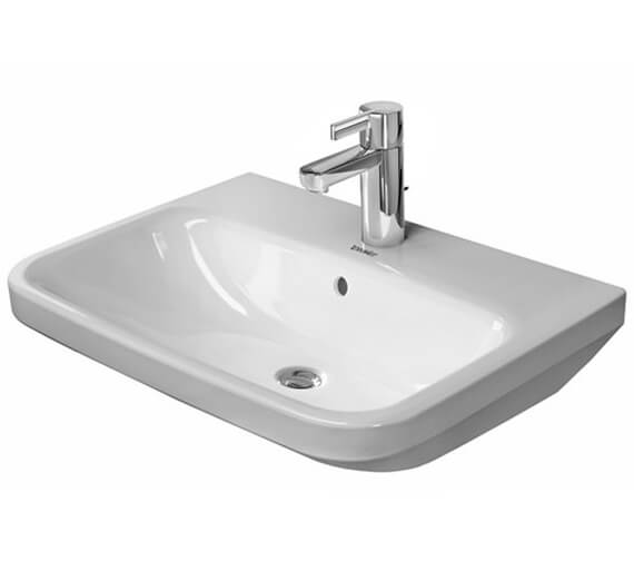 Additional image of Duravit DuraStyle 550 x 440mm 1 Taphole Washbasin With Overflow