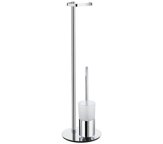 Smedbo Outline Free Standing Toilet Brush And Roll Holder