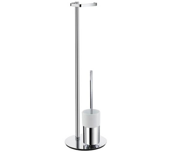Alternate image of Smedbo Outline Free Standing Toilet Brush And Roll Holder