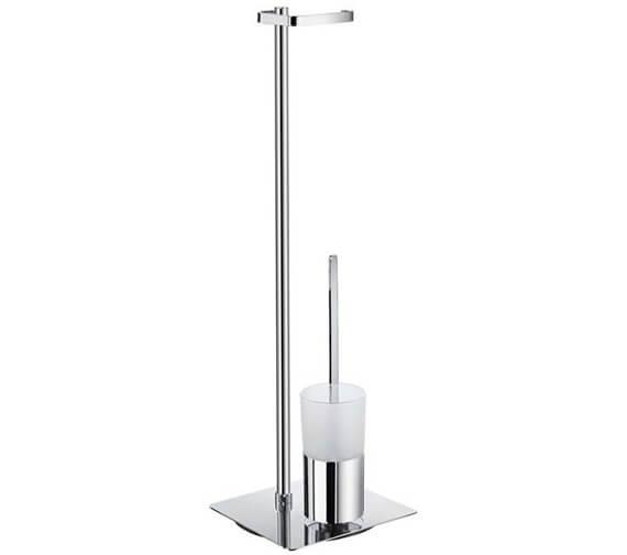 Smedbo Outline Toilet Roll Holder And Toilet Brush