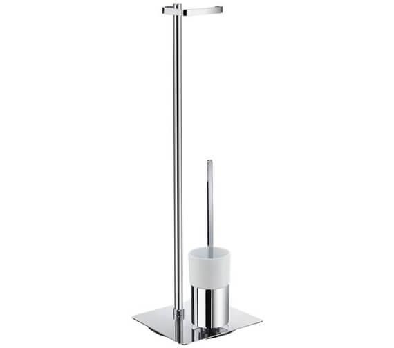 Alternate image of Smedbo Outline Toilet Roll Holder And Toilet Brush