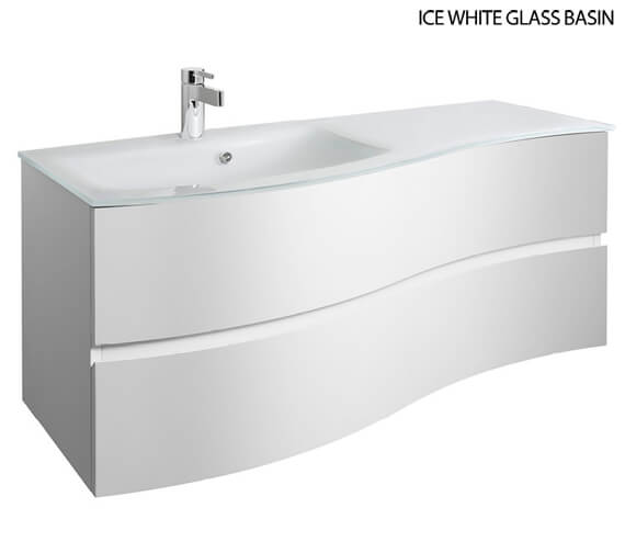 Alternate image of Bauhaus Svelte 1200mm Wall Hung Unit White Gloss