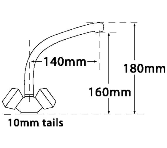 Technical drawing QS-V73953 / 422