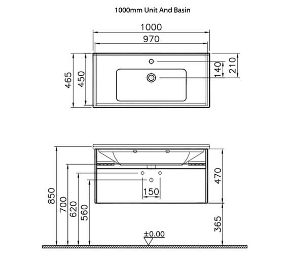 Technical drawing QS-V63128 / 54734