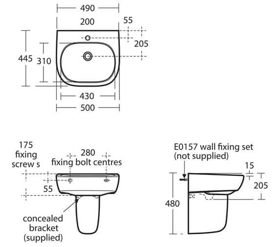Technical drawing QS-V39094 / E618301