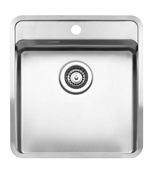 Reginox Ohio Stainless Steel 1.0 Bowl Integrated Sink With Tap Deck