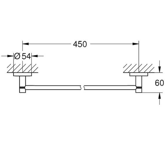 Technical drawing QS-V80590 / 40688001