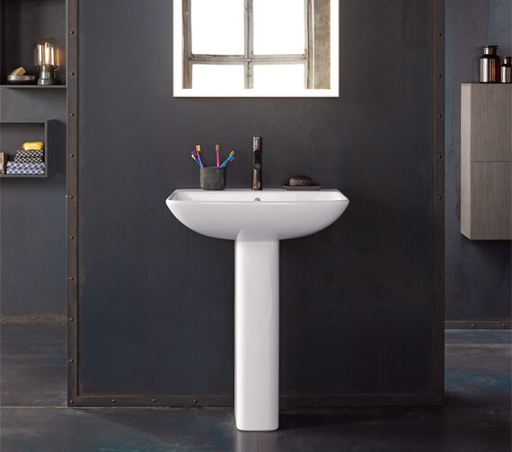 Alternate image of Duravit ME By Starck Washbasin With Overflow