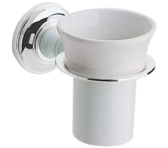 Heritage Clifton Chrome Tumbler Holder