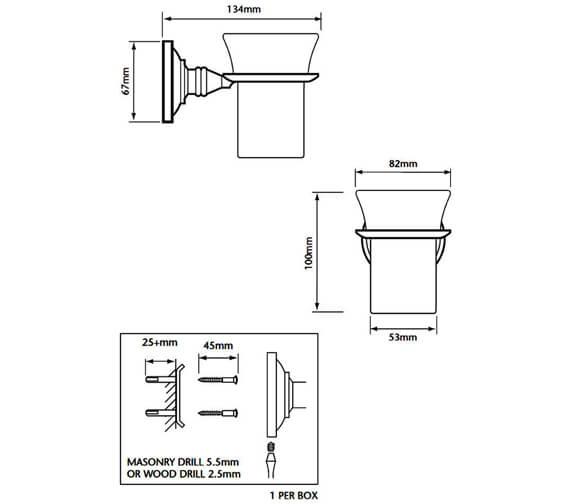 Technical drawing QS-V53370 / ACC03