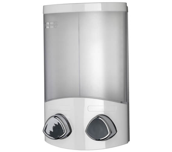 Croydex Euro Duo Soap Dispenser White