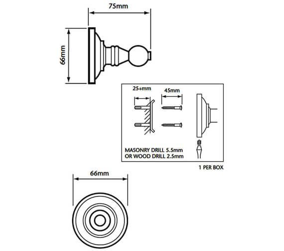 Technical drawing QS-V53374 / ACC10