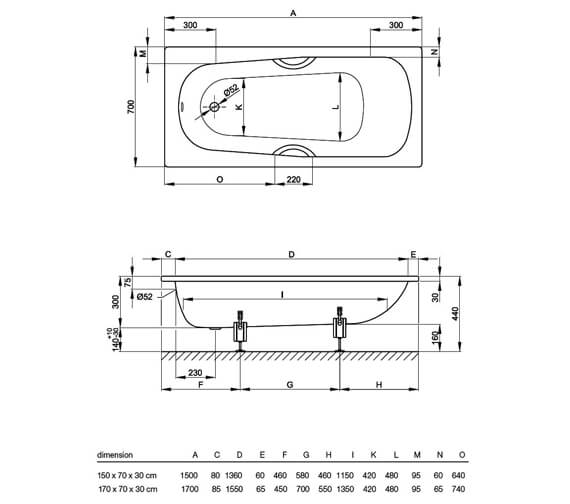 Technical drawing QS-V34605 / 1520 000