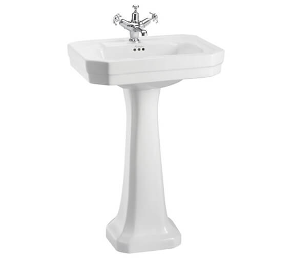 Burlington Victorian 560mm 1 Taphole Basin