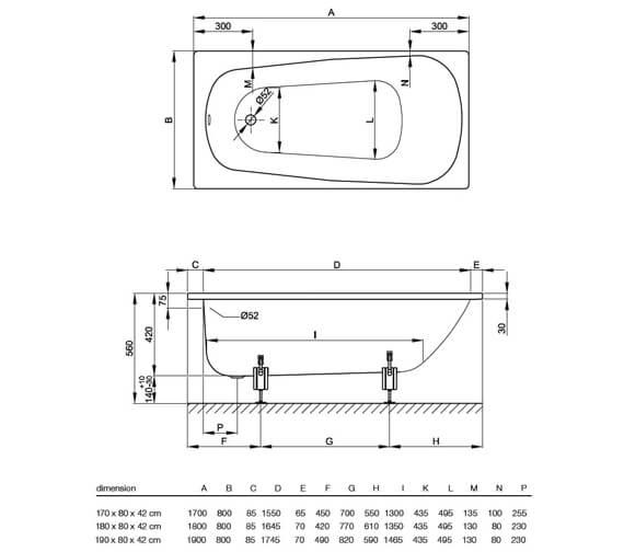 Technical drawing QS-V34597 / 3490 000