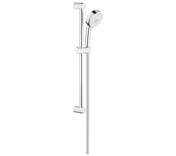 Grohe New Tempesta Cosmopolitan 100 4-Spray Pattern Shower Rail Set