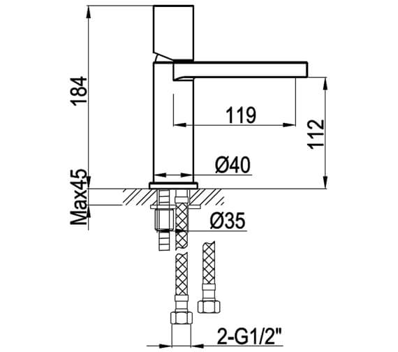 Technical drawing QS-V82597 / NI101