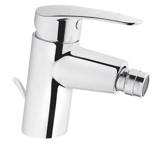 VitrA Dynamic S Chrome Bidet Mixer Tap With Pop-Up Waste