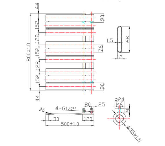 Technical drawing QS-V26923 / EA192
