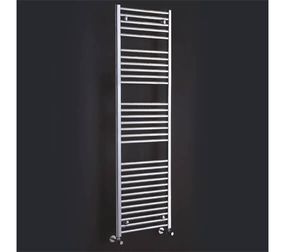 Phoenix Flavia 300 x 1200mm Chrome Straight Towel Rail