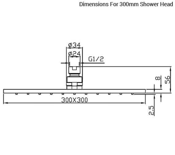 Technical drawing QS-V72145 / KI073