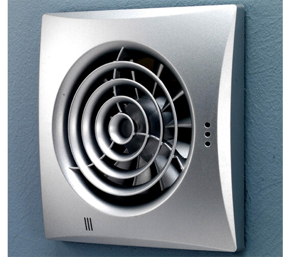 Alternate image of HiB Hush White Safety Extra Low Voltage Extractor Fan