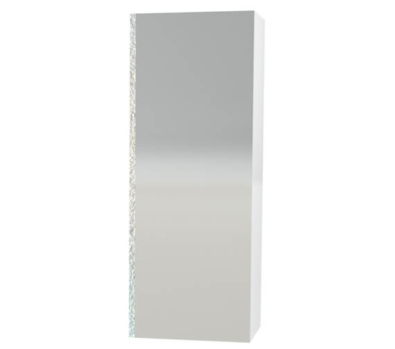 Miller London White 400 x 1111mm Mirror Cabinet With Mirror Door