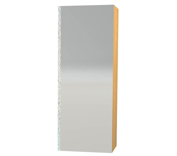 Additional image of Miller London White 400 x 1111mm Mirror Cabinet With Mirror Door