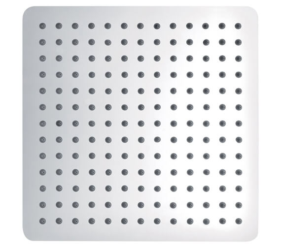 Additional image of Pura Slimline Stainless Steel 200mm Square Shower Head