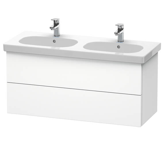 Duravit Delos 1150 x 460mm 2 Drawer Vanity Unit With Basin