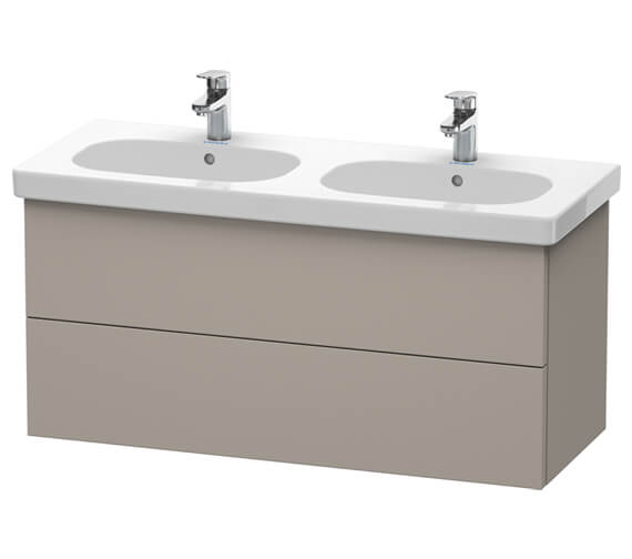 Additional image of Duravit Delos 1150 x 460mm 2 Drawer Vanity Unit With Basin