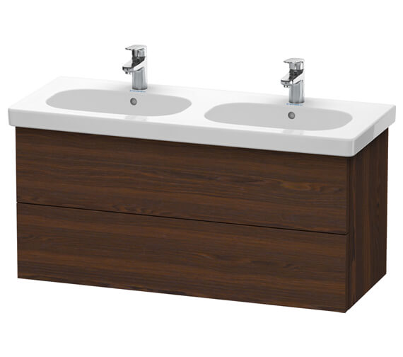 Alternate image of Duravit Delos 1150 x 460mm 2 Drawer Vanity Unit With Basin
