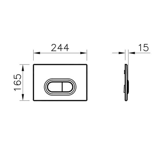 Technical drawing QS-V79893 / 740-0511
