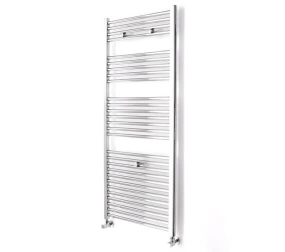 Additional image of Essential Straight 450 x 690mm Towel Warmer White