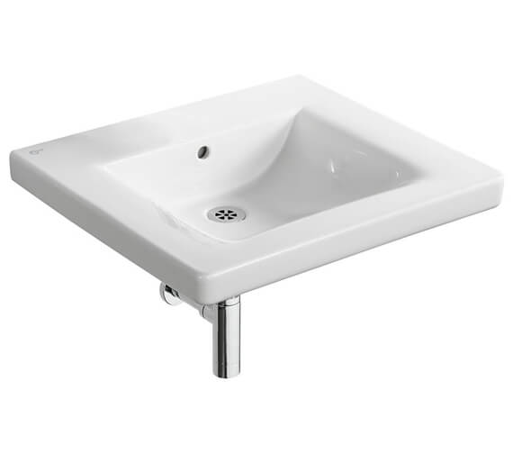 Ideal Standard Concept Freedom 600mm No Tap Hole Accessible Washbasin