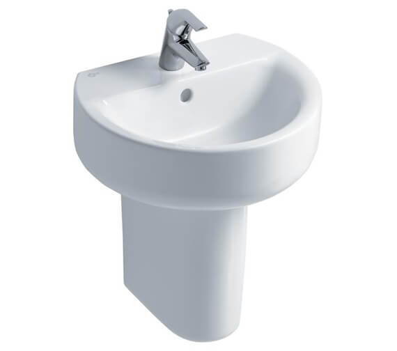 Additional image of Ideal Standard Concept Sphere 1 Tap Hole Handrinse Basin