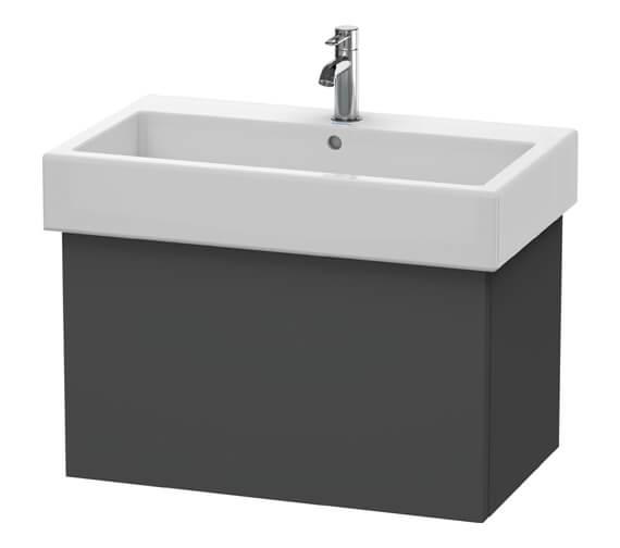 Alternate image of Duravit Delos 750 x 445mm White Matt Vanity Unit With Basin