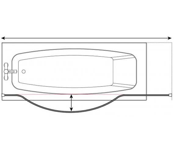 Technical drawing QS-V18006 / GP87401