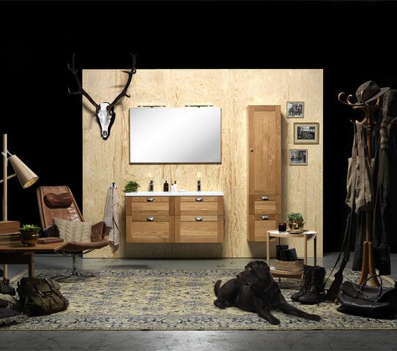 Alternate image of Miller London 1200mm Four Drawer Wall Hung Vanity Unit