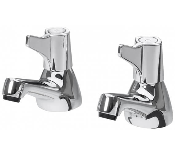 Additional image of Triton Exe Pair Of Basin Taps With Knob Handle