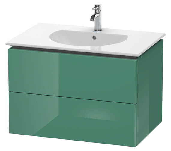 Alternate image of Duravit Delos 800 x 541mm White Matt 2 Drawers Vanity Unit With Basin