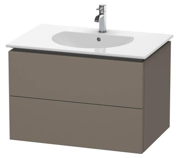 Duravit Delos 800 x 541mm White Matt 2 Drawers Vanity Unit With Basin