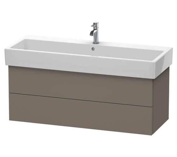 Duravit Delos 1150 x 445mm 2 Drawer Vanity Unit With Basin