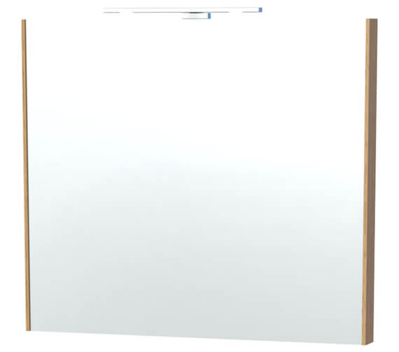 Additional image of Miller London 80 White Framed Mirror