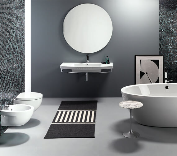 Alternate image of Saneux Poppy 650mmWashbasin With Overflow