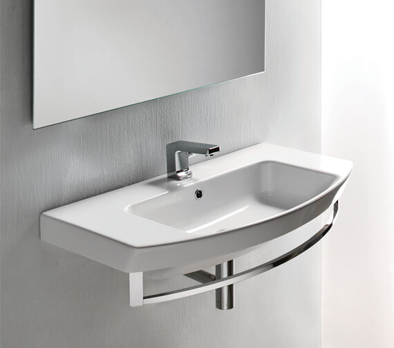 Saneux Poppy 650mmWashbasin With Overflow