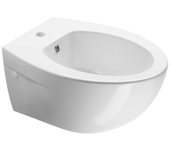 Additional image of Saneux Poppy Slim Wall Mounted Bidet